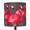Flock Of Flamingos Lampshade Small image