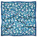 Arabesque azur - Silk scarf image