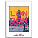 Big Ben London Town Series A3 Print image