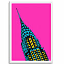 The Chrysler Building A3 Print image
