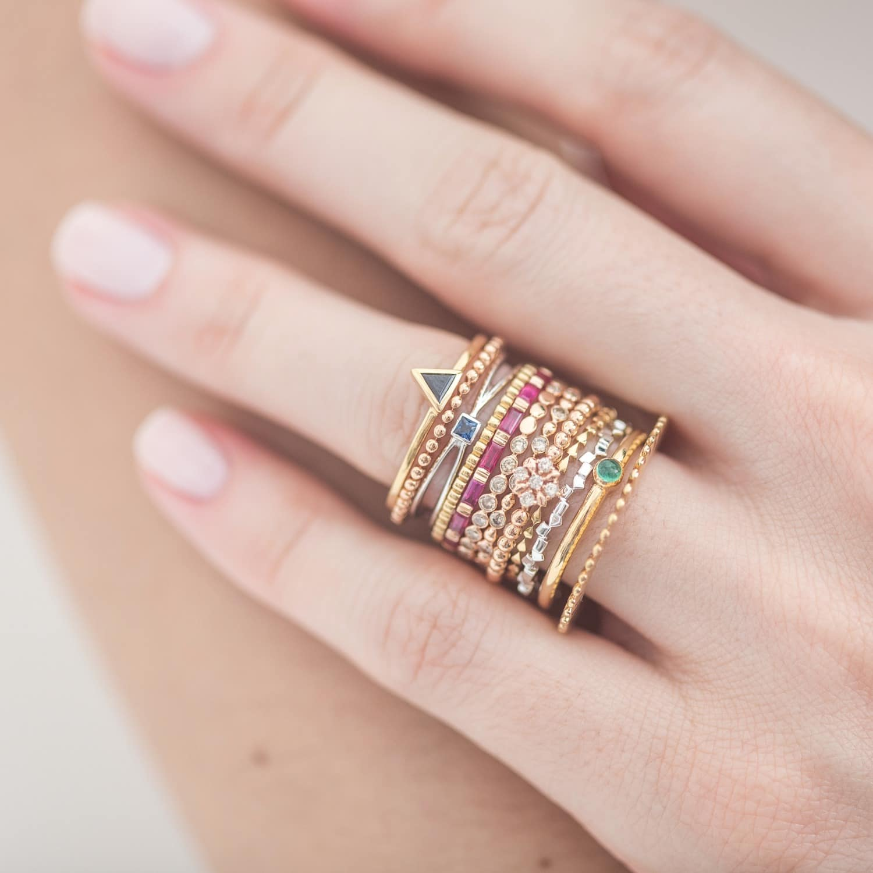 The Calendar Yellow Gold Ring | Joana Salazar | Wolf & Badger