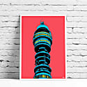 Bt Tower A3 Print image