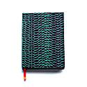 Fishskin Emerald Silk Covered Notebook image