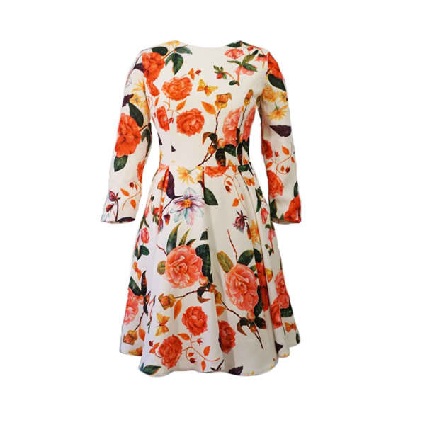 LAUREN LYNN LONDON The Iris Mini  Floral  Dress