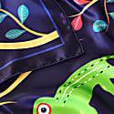 Abomey Indigo Silk Scarf image