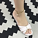 Elegant Chain With Freshwater Drop Anklet image