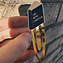 Enamel Bookmark One More Chapter image