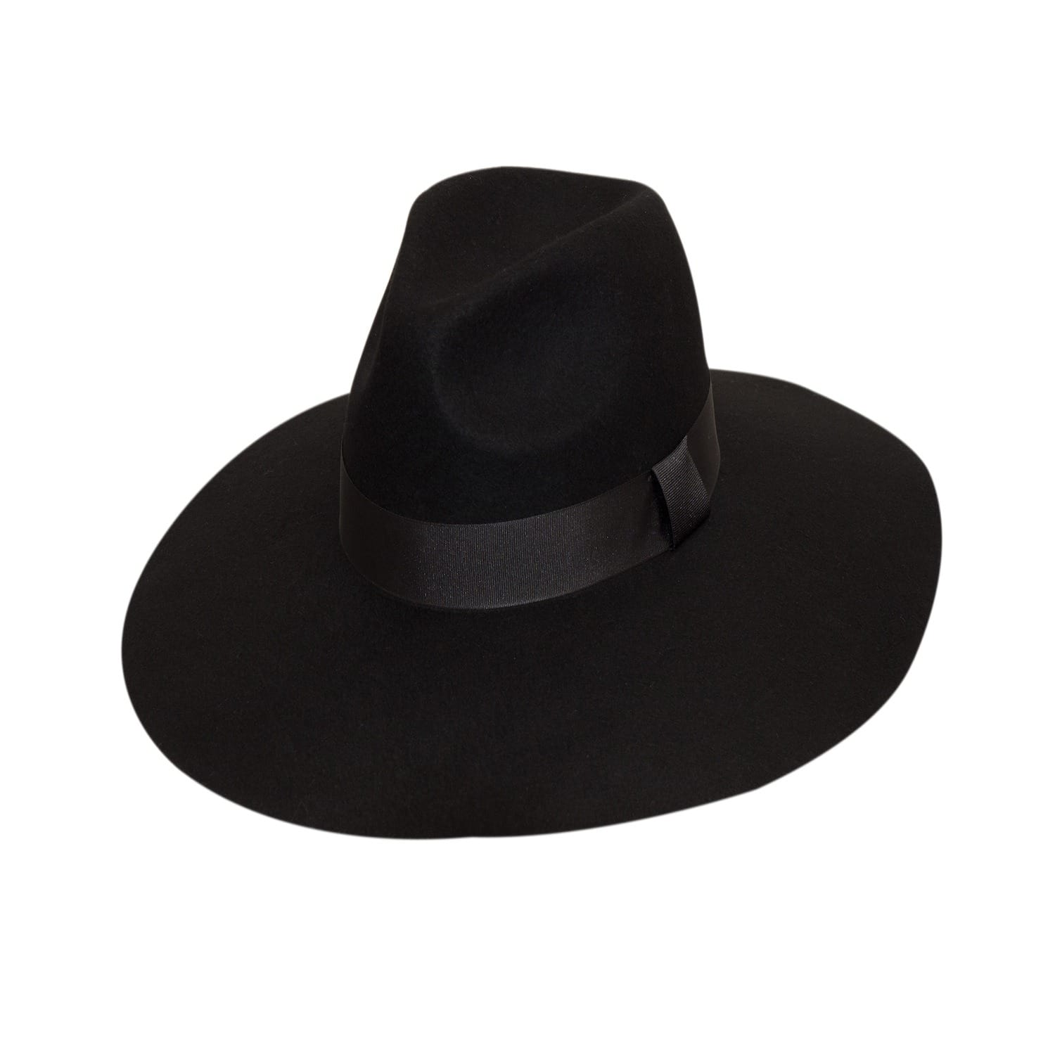 a674ba70186a93 Black Grande Fedora | Mu Du London | Wolf & Badger