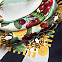 Large Lobsters Pale Green Silk Scarf image