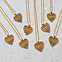 Rainbow Love Heart Necklace image