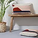 Large Convergent Cushion Pink image