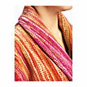 Pink Grass Collar Bath Robe image