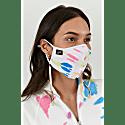 Neon Tie Dye Face Mask image