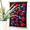 Black Fish Tea Towel image