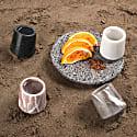 Mezcaleros Gradiva Grey Marble - 4 Pieces image