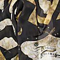 Gold Moth Modal Silk Scarf image