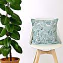 Poppy Seedhead Screen Printed Cushion image