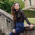 Black Lace Shirt image