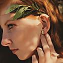 Mariposa Earrings Black image
