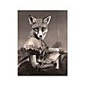 Mrs Spring Fox Print image