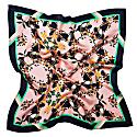 Large Burmese Toucan Blush Silk Scarf image