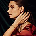 San Shi Amethyst Bracelet 18 Ct Rose Gold Vermeil image