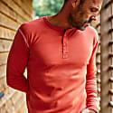 The New Elder Henley Shirt Vintage Red image