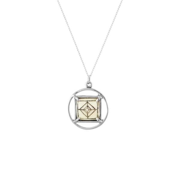 Sami medal necklace