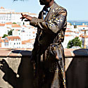 Black Oro 100% Silk Robe image
