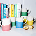 Set Of 4 Colour Dip Mugs image