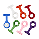Annie Apple Silicon Nurse Fob Watch With 7 Straps image