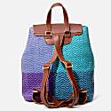 Torero Backpack Purple & Aqua image