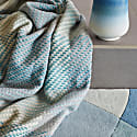 Turquoise Throw image