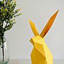 Rabbit Diy Paperlamp Kit In Cadmium Yellow image