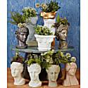 Hygeia Head Vase, Powder Green image
