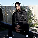 Cadley Utility Fleece Sweatshirt In Black image