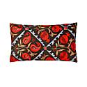 Halicarnassus Suzani Ikat Double Sided Heritage Design Cushion image