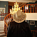 Magico Black Suede Hat image