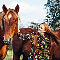 Stevie Blouse - High Neck - Wildflower Print image