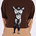 Unisex Bodybuilder Jumper Brown & Beige image