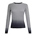 Dip Dye Cashmere Sweater Grey image