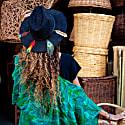 Pico Black Suede Hat image