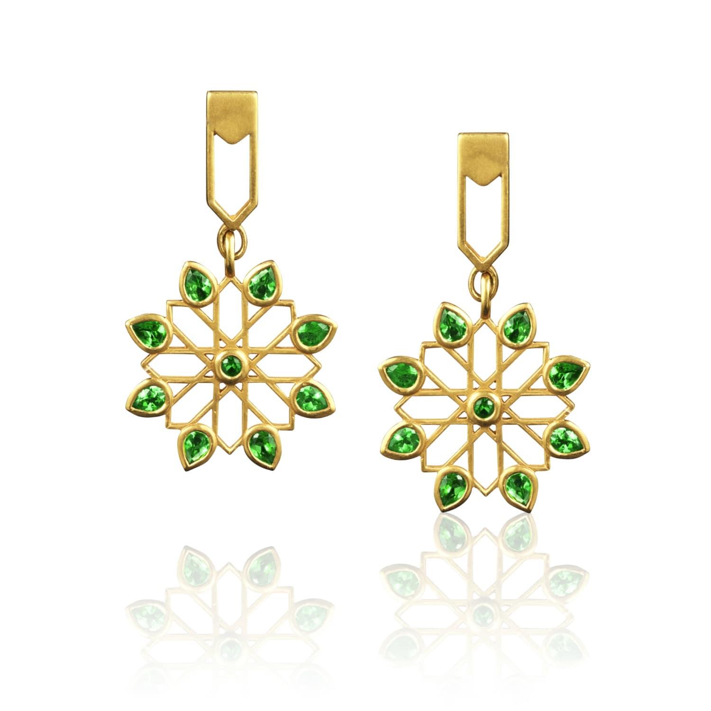 041455bee05d9 Persian Garden Earrings by Sara Peymanpour