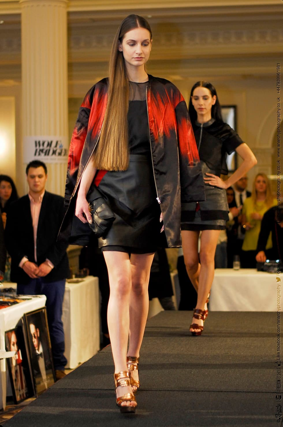 Vielma Catwalk show look