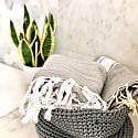 Grey Herringbone Hammam Towel image