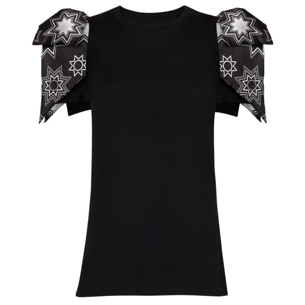 SIOBHAN MOLLOY Daisy Flyaway Sleeve T-Shirt
