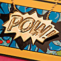 POW Pendant Large Long in Gold image