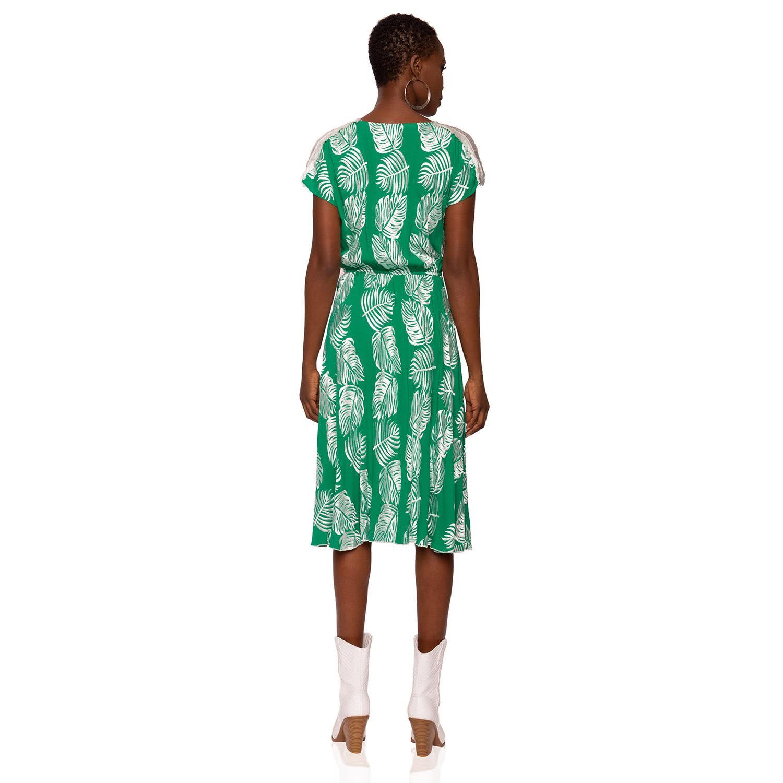 6b9eb914ca Viscose Leaves Dress image