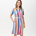 Justine Cruise Stripe Shirt Dress image