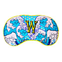W For Waves Silk Eye Mask In Gift Box image